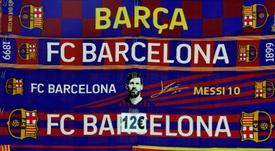 Messi, três anos no City e aposentadoria na MLS. AFP
