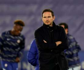 Frank Lampards position as Chelsea manager is under serious threat. AFP