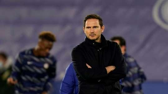 Chelsea s'apprête à virer Frank Lampard. AFP