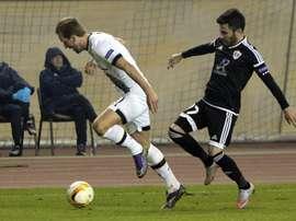 Os azeri ainda estão na luta pela chegada à fase de grupos da Champions. AFP