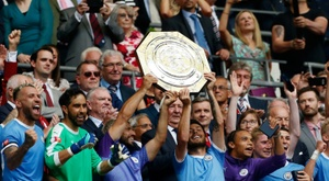 The Community Shield will take place in August. AFP