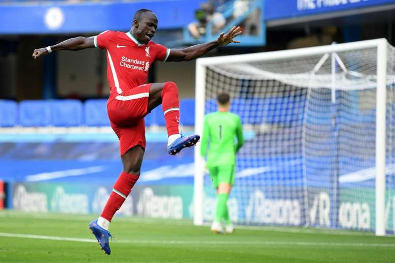 Chelsea lost 2-0 to Liverpool. AFP