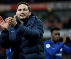 Time de Frank Lampard acabou com a espera do Liverpool. AFP
