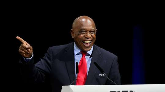Tokyo Sexwale, chairman of theFIFA Monitoring Committee on Israel-Palestine. AFP