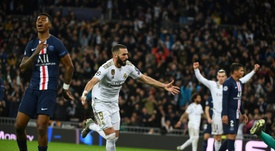 Real Madrid find themselves on night of comebacks against PSG. AFP