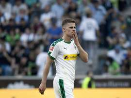 Gladbach's Thorgan Hazard has said that he has agreed terms to join Dortmund. AFP
