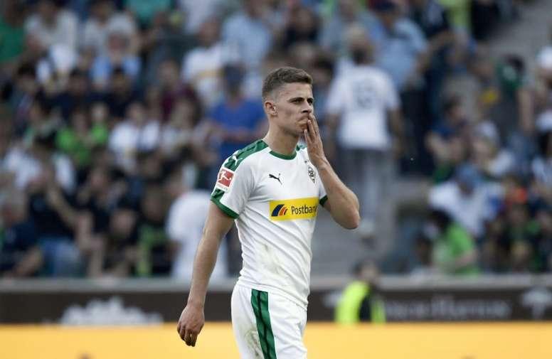 Thorgan Hazard, en la agenda del Borussia. AFP