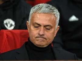 Mourinho n'a pas voulu mette la pression à son jeune remplaçant. AFP