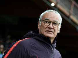 Ranieri's Roma look like they will have to settle for a Europa League spot. AFP