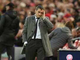 Valverde's position is in danger after Liverpool defeat. AFP