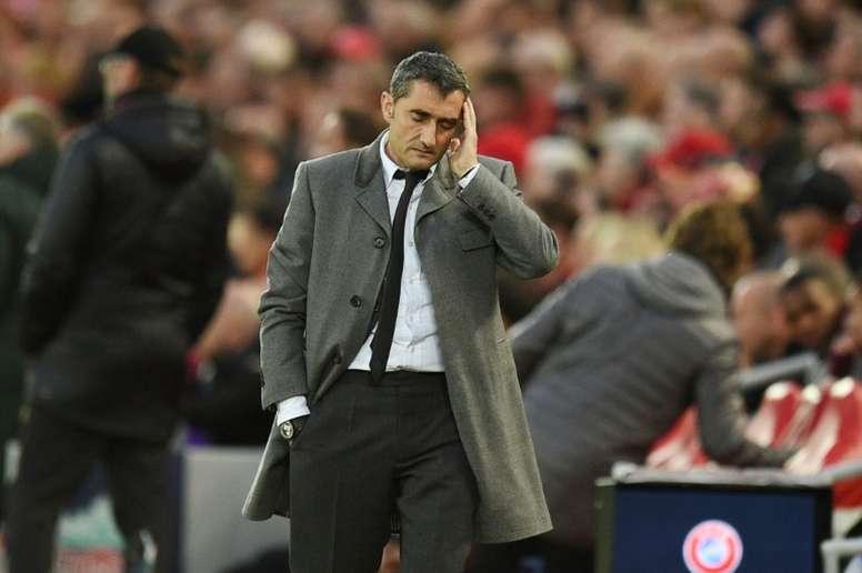 Bartomeu confirme que Valverde restera. AFP