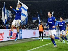 Schalke won 2-0. AFP