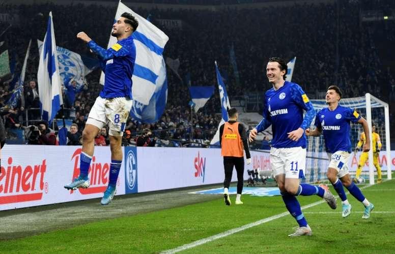 Schalke won 2-0. AFP