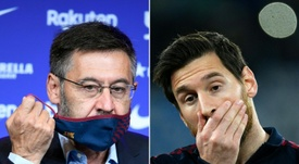 Bartomeu fala sobre o caso Messi. AFP
