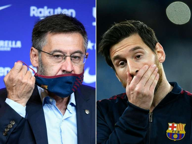 Instability means Bartomeu's victory over Messi may prove hollow. AFP