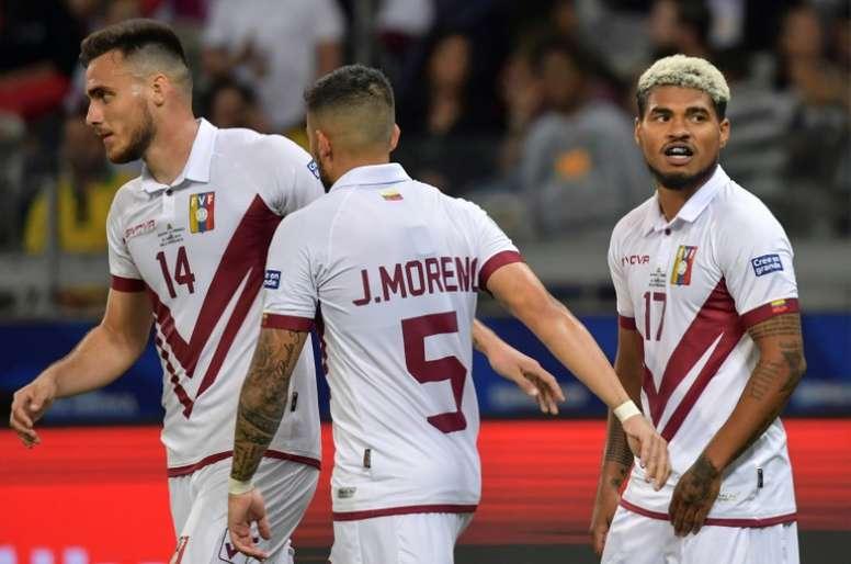 Venezuela have won Copa respect, says goalscorer Martinez