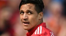 Alexis sigue siendo criticado pese a haber dejado el United. AFP