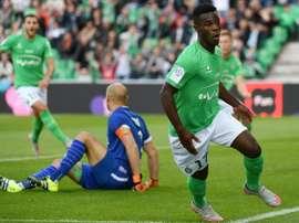 El Sevilla ha puesto sus ojos en Jonathan Bamba. AFP