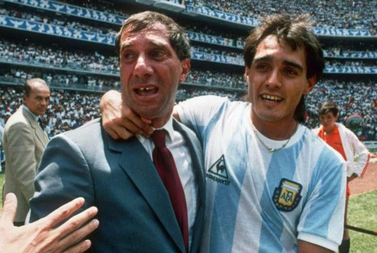 Argentina's '86 World Cup coach Bilardo positive for coronavirus. AFP