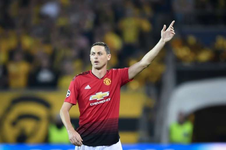 Matic won two Premier League titles with Chelsea. AFP