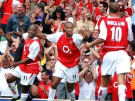 L'Arsenal d'Henry n'a pas connu la défaite lors de la saison 2003-04. AFP