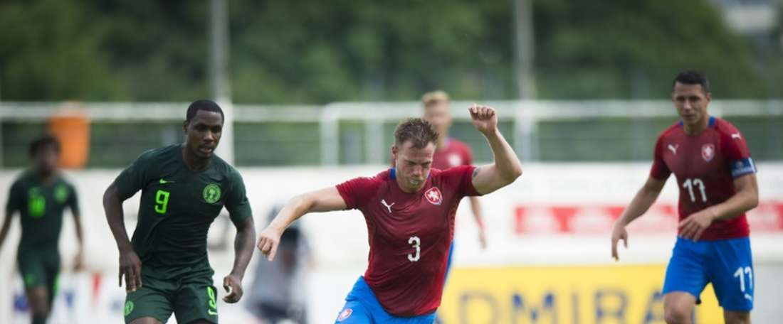 Kalas is a Czech Republic international. AFP