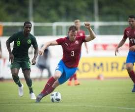 Tomas Kalas was the sole scorer. AFP