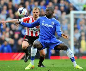 Demba Ba urges football to 'stand up' over China's Uighurs. AFP
