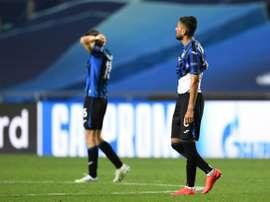 Atalanta lost 2-1. AFP