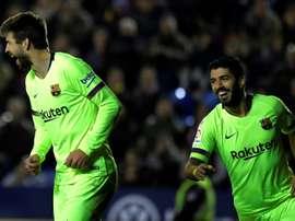 Les compos probables du match de Liga entre Barcelone et le Celta Vigo. AFP