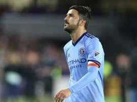 Villa se marcha con 80 goles a sus espaldas. AFP