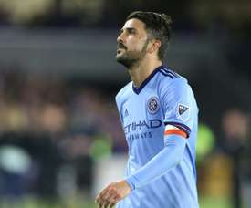 Villa  scored 80 goals in 124 appearances for New York. AFP