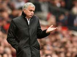 Les sept absences de Mourinho. AFP