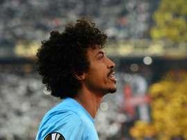 Luiz Gustavo se sinceró ante sus aficionados. AFP