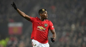 Pogba parti pour rester à Manchester United. AFP