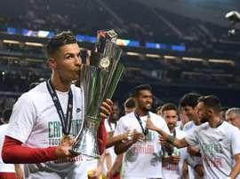 Ronaldo envoie un message. AFP