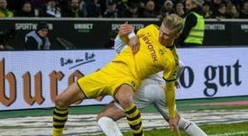 Bundesliga pode voltar em maio, mas sem torcida até o fim do ano. AFP