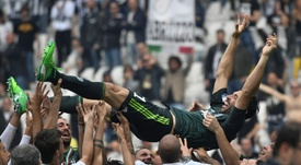 Buffon s'empare du record de Paolo Maldini. AFP