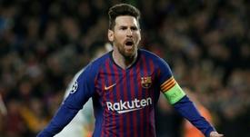 La seule équipe contre laquelle Messi n'a jamais gagné. AFP