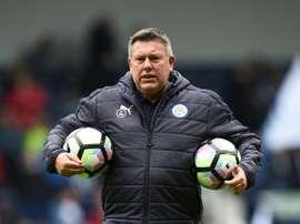 O técnico do Leicester pretende contar com o ex-capitão do Sporting CP. AFP