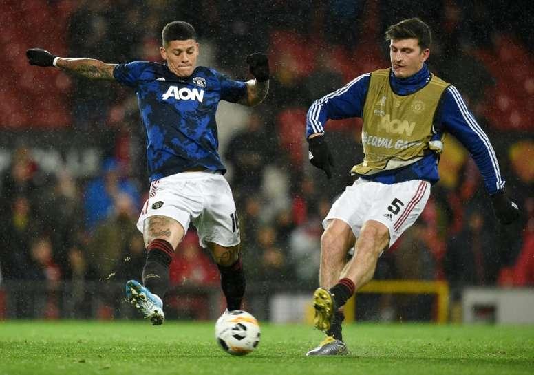 Rojo joins Estudiantes on loan from Man United. AFP