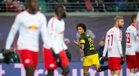 Witsel winner keeps Dortmund six points clear in Bundesliga.