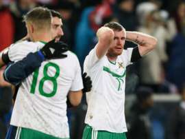 Northern Ireland failed to quality for the World Cup. AFP