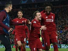Liverpool's comeback brought players to tears. AFP