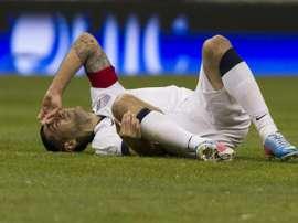 Dempsey, goleador en Estados Unidos. AFP