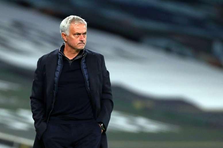 Tottenham manager Jose Mourinho. AFP