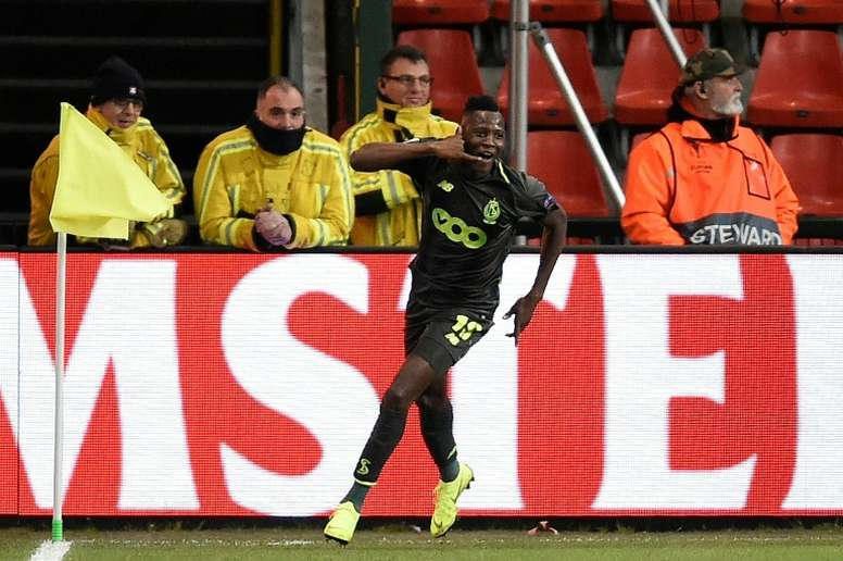 Moussa Djenepo has joined Southampton from Standard Liege. AFP