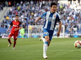 Wu Lei has already shown his quality in La Liga. AFP