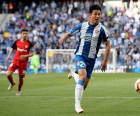 Wu Lei has already shown his quality in La Liga. AFP