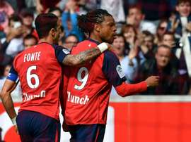 Loic Remy's goal could see Lille finish second in France. AFP